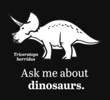 Ask Me About Dinosaurs Kids Clothes