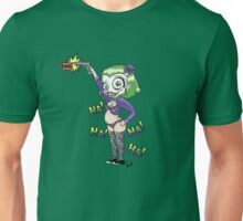 HA! HA! HA! HA! (light color backgrounds) Unisex T-Shirt