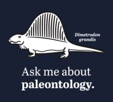 Ask Me About Paleontology Kids Tee