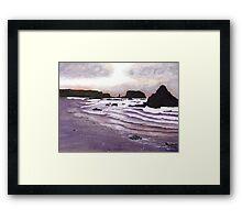 Harris Beach, Oregon USA Framed Print