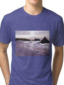 Harris Beach, Oregon USA Tri-blend T-Shirt