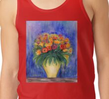 Bouquet in a Vase Tank Top