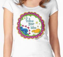 Follow Your Bliss Women's Fitted Scoop T-Shirt