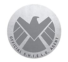 S.H.I.E.L.D. Badge Photographic Print