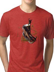 Captain Squid At Sea Tri-blend T-Shirt