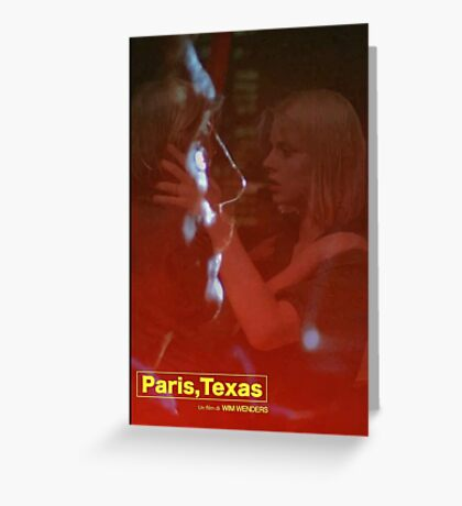 Paris, Texas Movie Poster Greeting Card