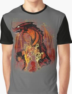 The Dragon Slayer Story Graphic T-Shirt