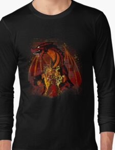 The Dragon Slayer Story Long Sleeve T-Shirt