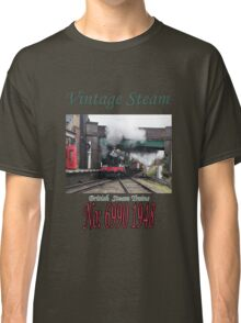 Vintage Steam Railway Train number 6990  Classic T-Shirt
