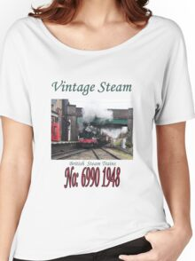 Vintage Steam Railway Train number 6990  Women's Relaxed Fit T-Shirt