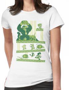 Dragon Kong Ball Womens Fitted T-Shirt