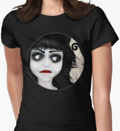 Dear little doll series... EUGENIA Womens Fitted T-Shirt