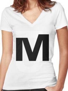JAYMO Logo Women's Fitted V-Neck T-Shirt