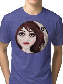 Dear little doll series... POLLY Tri-blend T-Shirt