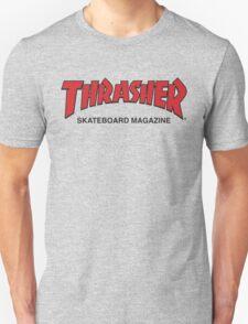 Thrasher Magazine Red Logo Design Unisex T-Shirt