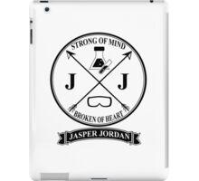 Jasper Jordan Varsity Logo iPad Case/Skin
