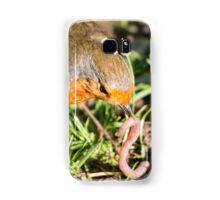 A Robin's Slippery Meal Samsung Galaxy Case/Skin