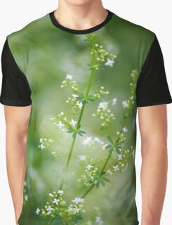 Bedstraw Wildflower Graphic T-Shirt