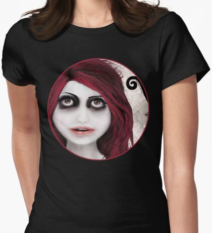 Dear little doll series... ROUBLE Womens Fitted T-Shirt