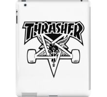 "Thrasher ""666"" Satanic Logo Design iPad Case/Skin"