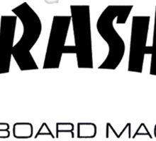 "Thrasher ""Skateboard Magazine"" Logo Design Sticker"