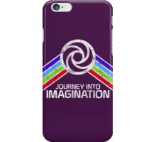 Vintage Journey Into Imagination EPCOT Center Distressed Logo Retro Style iPhone Case/Skin