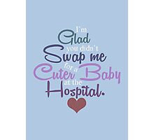 A Cuter Baby Photographic Print