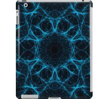 Blue Web Mandala iPad Case/Skin