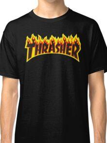 "Thrasher ""Flame"" Logo Design Classic T-Shirt"