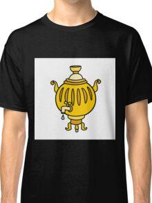 Funny Russian samovar colorful  Classic T-Shirt