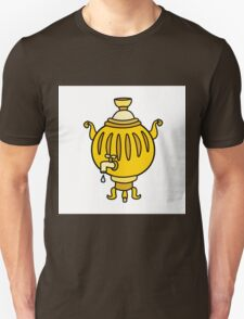 Funny Russian samovar colorful  T-Shirt