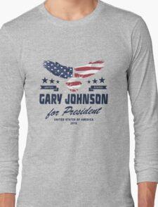 Gary Johnson for president 2016 Long Sleeve T-Shirt