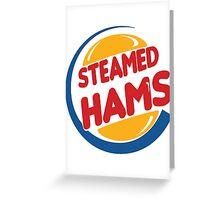 Steamed Hams – Principal Skinner, Superintendant Chalmers Greeting Card