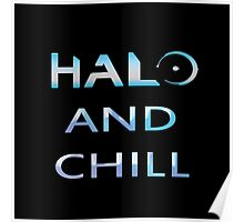 Halo and Chill Poster