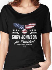 Gary Johnson for president 2016 Women's Relaxed Fit T-Shirt