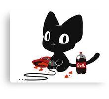 Gamer Kitty Canvas Print