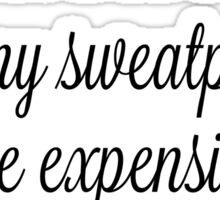 Mindy Kaling Sweatpants Quote Sticker