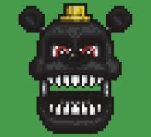 Adventure Nightmare - FNAF World - Pixel Art Baby Tee