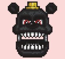 Adventure Nightmare - FNAF World - Pixel Art One Piece - Long Sleeve
