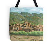 Taos Pueblo New Mexico USA Tote Bag