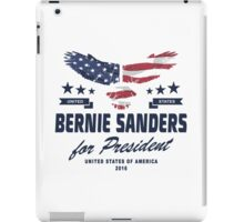 Bernie Sanders for president 2016 iPad Case/Skin