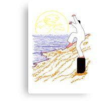Daniel Sees The Bird Canvas Print