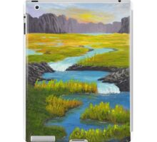 Marsh River Original Acrylic painting iPad Case/Skin