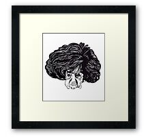 The Woman Whose Head Expanded Framed Print