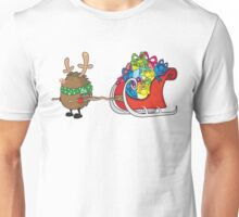 rudolph the red nosed hedgehog Unisex T-Shirt