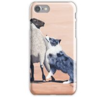 One Tough Sheepdog Australian Shepherd iPhone Case/Skin