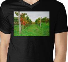 Autumn Grape Vines Near Abbazia Rosazzo Mens V-Neck T-Shirt