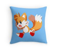 Tails! Throw Pillow