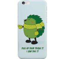 Eco Hedgehog iPhone Case/Skin