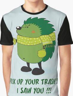 Eco Hedgehog Graphic T-Shirt